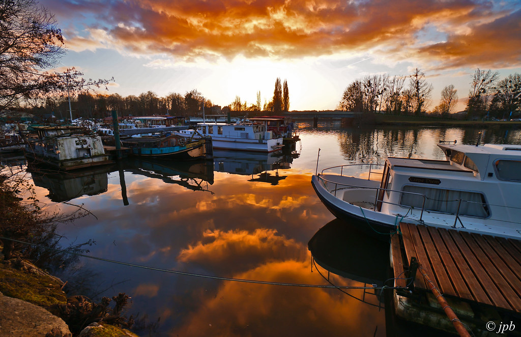 lightroom_0809_ coucher de soleil sur le bras de la Seine
