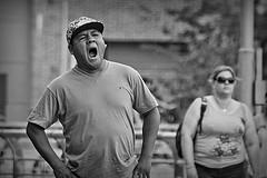 bâillement (Wal CanonEOS) Tags: bâillement bostezar bostezo sueño cansancio dream rêve man men hombre hombrebostezando argentina argentinabsas bsas buenosaires caba capitalfederal ciudadautonoma ciudaddebuenosaires argentinapuertomadero puertomadero dia day canon eos rebelt3 canoneosrebelt3 gente gentes people peoples personas retrato retratos retratobyn portrait portraitbw portraits hdr hdrbw hdrcandid calle callejeando calles street streets streetsbw strange streetshdr candid candidstreet candidbw foto fotografia flickr flickrargentina fotocallejera photo photography alairelibre monocromatico monocromatic monocromo faces face cara rastro rostro