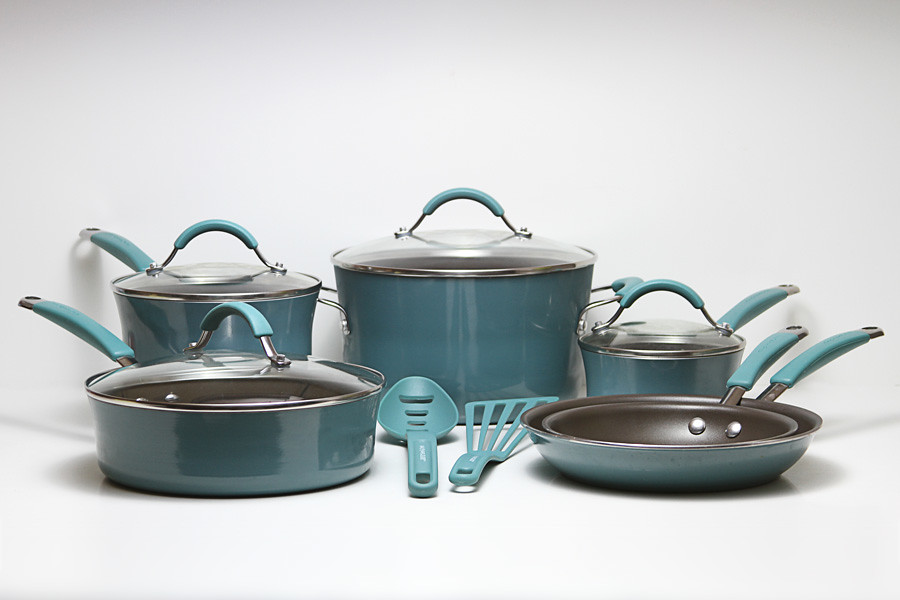 Blue and black Rachel Ray cookware set by yourbestdigs, on Flickr