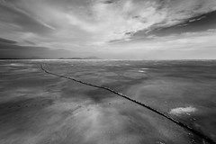 Ice quake (zedspics) Tags: balaton magyarország hungary allrightsreserved icequake rianás winter ice bw blackwhite badacsony balatongyörök nature icefield