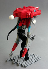 Harvester Drone A (Gamabomb) Tags: lego bot drone robot alien