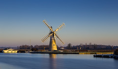 Thurne Landscape (jammo s) Tags: thurnemill windmill norfolk riverthurne calm winter norfolkbroads 10stop longexposure lightroom canoneos6d canonef24105mmf4lusm