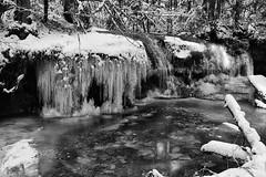 Kleiner Wasserfall · Small Waterfall (Objektkontrast) Tags: badenwürttemberg schwäbischerwald wasserfall winter waterfall strümpfelbachschlucht welzheim