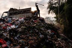 Near Ubud, Bali (AMNewman) Tags: ubud bali indonesia asia street travel rubbish trash