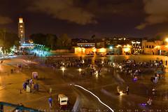 The square at night (T Ξ Ξ J Ξ) Tags: morocco marrakesh djemaaelfna d750 nikkor teeje nikon2470mmf28 stalls street store night