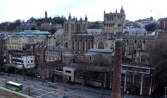 Bristol (Nige H (Thanks for 10m views)) Tags: bristol bristolcathedral cabottower city skyline cityscape england