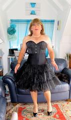 Black Lace (Trixy Deans) Tags: crossdresser cd cute crossdressing crossdress classy frilly tgirl tv transvestite transgendered transsexual tranny trixydeans tgirls transvesite trixy