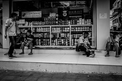 Bangkok 2016 (Johnragai-Moment Catcher) Tags: people photography bangkokstreet bangkok monocrome momentcatcher moment blackwhite blackandwhite olympus omd omdem1 omdsp johnragai johnragaiphotos johnragaistreet johnragaibw