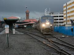 Amtrak189PortlandOR3-15-17 (railohio) Tags: amtrak trains portland oregon j3 031517 28 p42 empirebuilder portlandunionstation station superliner