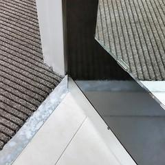 Mirrored Door (G-daddyArt) Tags: door abstract tile carpet bathroom hotel mirror doorway marble threshold