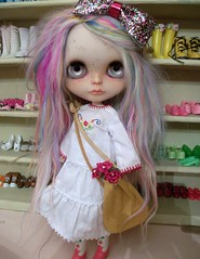 Jezzebelle in a cute stock outfit.....