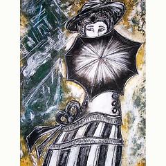 """Deviance"" Acrylic, Pastel on Paper, early work c.2005 (Sold) #abstractart #abstractartwork #worksonpaper #abstractportrait #abstract #originalart #deviance #multiplicity #victorianart #umbrella #modern #moderart #keywest #keywestart #keywestartist #conte (kregkelley) Tags: abstract modern umbrella artwork originalart abstractart contemporaryart victorian multiplicity artsy keywest visualart worksonpaper deviance moderart picofday abstractportrait dcart instaart visualartist victorianart emergingartist miamiart abstractartwork keywestart keywestartist instalike kregkelley"