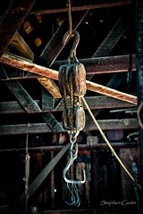 Pulley (stephencurtin) Tags: california interior objects blacksmith coloma