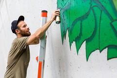 The Gardener (TerryJohnston) Tags: portrait streetart male art face mi graffiti mural paint artist michigan nick urbanart mich gr grr grap uica amazingmich canoneos5dmarkiii canon5dmarkiii 5dmarkiii nicknortier exitspaceproject