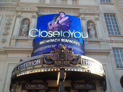 Close to you FOH (wearearchers) Tags: piccadilly archers westend burtbacharach theatreland closetoyou criteriontheatre archersigns bacharachreimangined