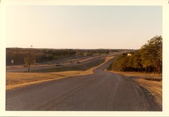 I 35 E view 1978 (Alec Williams Photo Collection) Tags: trees texas e highways interstate 35 denton i35