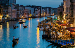 Atmospheric Venice - Italy, Grand Canal (Nomadic Vision Photography) Tags: travel venice italy heritage twilight historical gondola grandcanal atmospher jonreid tinareid nomadicvisioncom