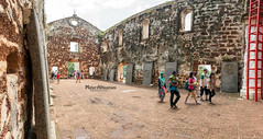 St. Paul's Church, Melacca (mahernaamani) Tags: old travel summer panorama holiday detail building travelling history tourism church beauty architecture canon arch pano details panoramas historic architect malaysia historical melacca melaka malacca detailed 6d        1521     canon6d