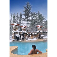 There are many options in the... (kelseywisdells) Tags: winter beautiful swimming wi wisconsindells infinitypool sundara uploaded:by=flickstagram instagram:photo=9030902568842893111169733346