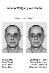 imaginäres Theaterplakat 2 (Christian Henking) Tags: bern johann bruno auge goethe wolfgang stadttheater faust blaues ganz