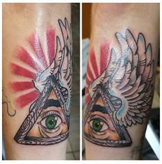 Custom all seeing eye