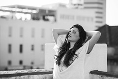 Amanda C. | 8.3.15 (Dan | Hacker | Photography) Tags: portrait model durham photoshoot hipster northcarolina sunlit downtowndurham northcarolinaphotographer vscofilm06