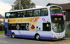 First Manchester 37297 MX07BUE in Heywood, bound for Bolton on the 471 corridor. (Gobbiner) Tags: