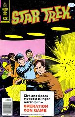 Star Trek #61 (1979) cover by Frank Bolle (Tom Simpson) Tags: startrek illustration vintage comics cover comicbook spock 1970s 1979 kirk captainkirk mrspock transporterroom frankbolle