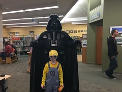 Star Wars Party @ Pinney Library (madisonpubliclibrary) Tags: kids children families teens 2015 madisonpubliclibrary pinneylibrary