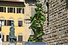 Pluto and Proserpina di Jeff Koons (Matteo Bimonte) Tags: art florence arte tuscany firenze pluto toscana koons jeffkoons proserpina scultura