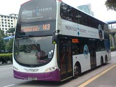 SBS3016L-Service 143(Montigo Resorts) (SG Transport Pics) Tags: buses eclipse volvo ii transit wright gemini sbs wrightbus b9tl wegii