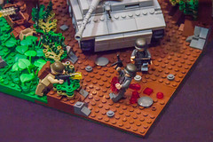 The push through Normandy (SEdmison) Tags: california france lego military worldwarii convention santaclara normandy bricksbythebay bricksbythebay2015
