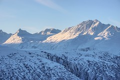 Alpen Energy (gminvdz) Tags: winter sunlight mountain snow mountains ice alaska landscape scenery sony scenic peak canyon peaks thompsonpass loweriver a6000 sel1670z ilce6000 garyminish