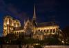 Notre-Dame de Paris (RandomCityLights) Tags: paris church seine night nacht gothic kathedrale kirche notredame gotik cathdral