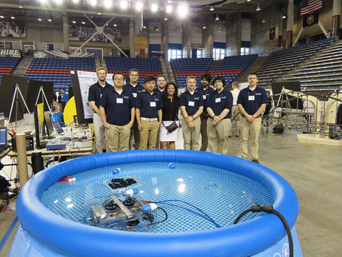 University of New Hampshire Undergraduate Ocean Research Project ROV