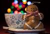 (--marcello--) Tags: christmas stilllife cup colors lights ginger bokeh felt christmaslights feltro zenzi tazza gingy zenzero pandizenzero