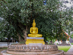 """Luang Prabang: le temple Vat Aham, à côté du Vat Visoun <a style=""""margin-left:10px; font-size:0.8em;"""" href=""""http://www.flickr.com/photos/127723101@N04/23238607263/"""" target=""""_blank"""">@flickr</a>"""