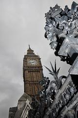 Parliament Fence (S.L.R) Tags: uk england london tower fence big gate elizabeth ben wroughtiron fences housesofparliament parliament bigben