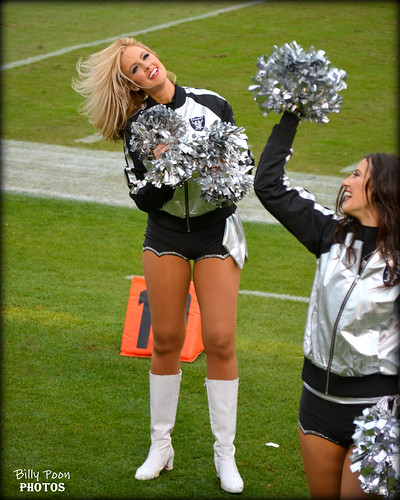 2015 Oakland Raiderette Jen @ O.co Coliseum