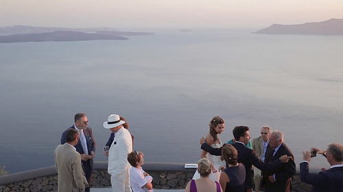 23451142395_3f6e86cb41 Catholic Wedding in Santorini: wedding video to Cycladic