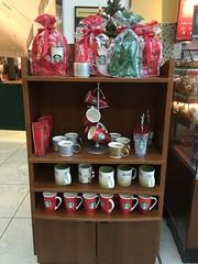 Starbucks - Dublin Airport Ireland - Christmas 2015 / December 2015 (firehouse.ie) Tags: coffee display festive christmastime itschristmas dub starbucks diblin ireland christmas 2015 december dublin airport terminal