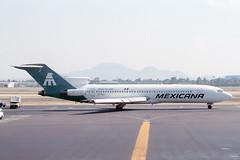 XA-MXJ Boeing 727-2A1 Mexicana (pslg05896) Tags: mexicana mex boeing727 mmmx xamxj mexicocitybenitojuárezinternationalairport