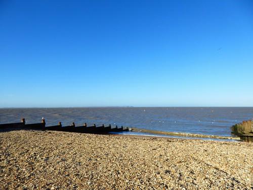Whitstable beach in November