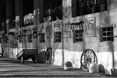 shadows and geometry in a farmville (marcobertarelli) Tags: geometry contrast shadows lights black white bw farm countryside vintage old history domus detail sharp monochrome life timeless timeline photography
