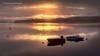 Sea fog... (moraypix) Tags: red seafog findhornbay colourfulsunset boats wintersunset morayfirth nikond750 fullframe nikon2485lens moraypixphotography jimmacbeath