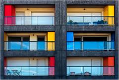 Malo-les-bains (leonhucorne) Tags: façade couleurs architecture mer malolesbains digue graphisme flickrtravelaward