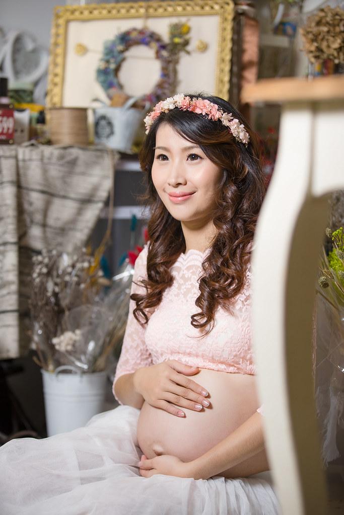 孕婦寫真,孕婦攝影,孕婦棚拍,婚攝卡樂,161217筱琪14