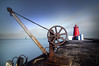 The Poolberg Lighthouse (Fabdub) Tags: dublin lighthouse sea poselongue longexposure wiew ireland hoyand1000 hoya pentaxk3 smcpentaxda1224mm
