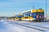 MNCX606GB_MinneapolisMN_181216 (Catcliffe Demon) Tags: minnesota twincities usa usatrip10dec2016 snow northstar metrotransit cabcar bombardier commuterrail mnrx passengerrail