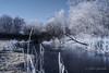 Winter Landscape - Infrared (gporada) Tags: infrarot infrared heliopan heliopanrg645 filter sony zeiss zeisslens sonydscf828 f828 frozen gefroren eis ice winter winterlandscape landscape cold eiskalt germany cityofstuttgart 2017 gporada stuttgartvaihingen world100f phvalue